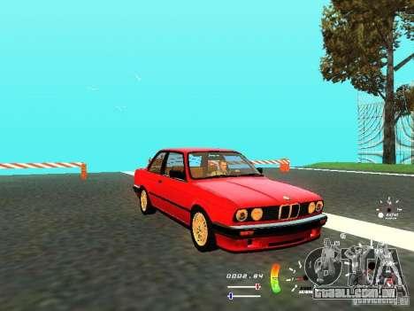 BMW E30 87-91 para GTA San Andreas esquerda vista