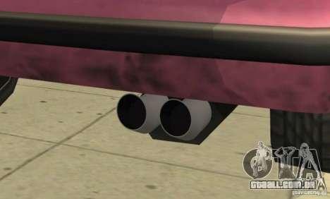 Car Tuning Parts para GTA San Andreas nono tela