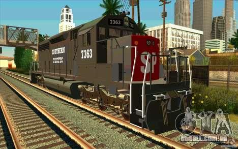 Southern Pacific SD 40 para GTA San Andreas