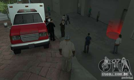 Rua lutando v2 para GTA San Andreas segunda tela