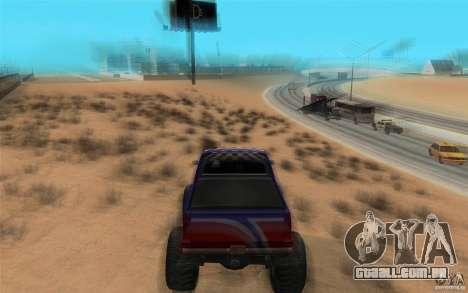 Maximum speed para GTA San Andreas segunda tela