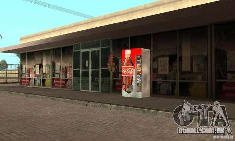 Cola Automat 1 para GTA San Andreas segunda tela