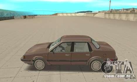Oldsmobile Cutlass Ciera 1993 para GTA San Andreas traseira esquerda vista
