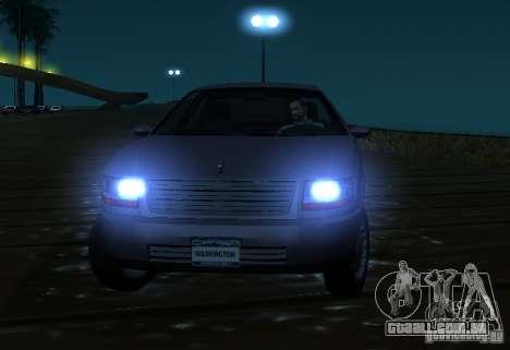 Washington de GTA IV para GTA San Andreas vista traseira
