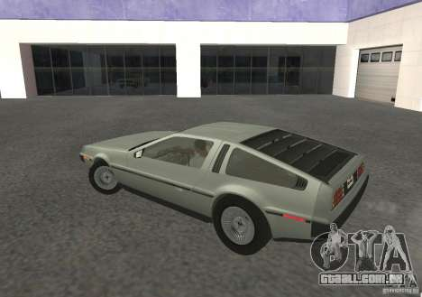 DeLorean DMC-12 para GTA San Andreas vista direita