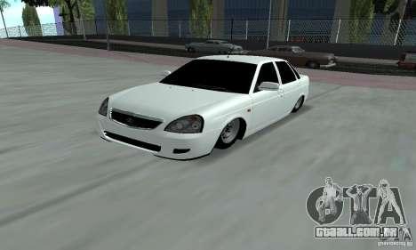 Lada Priora Low para GTA San Andreas