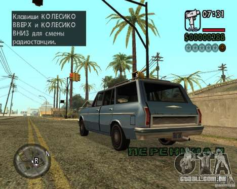 NewFontsSA 2012 para GTA San Andreas oitavo tela