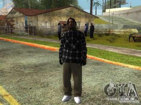 Crips para GTA San Andreas nono tela
