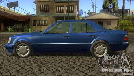 Mersedes-Benz E500 para GTA San Andreas vista direita