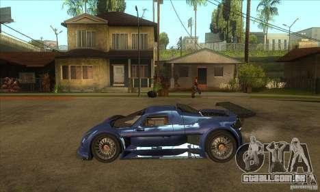 Gumpert Apollo Sport para GTA San Andreas esquerda vista