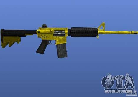 M4A1 para GTA 4 segundo screenshot