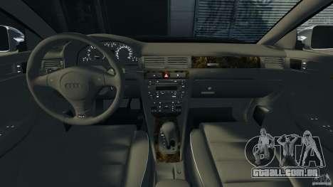 Audi RS6 2003 para GTA 4 vista de volta