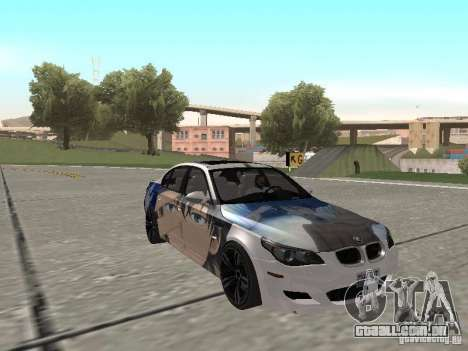 BMW M5 E60 para GTA San Andreas interior