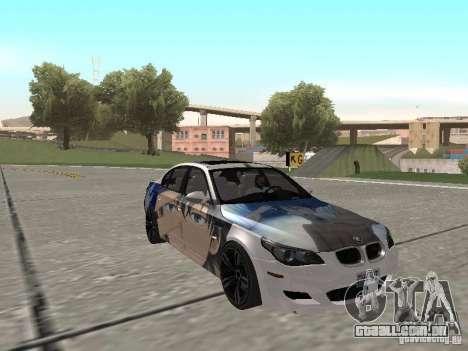 BMW M5 E60 para GTA San Andreas interior