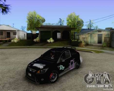 Ford Focus RS para GTA San Andreas vista direita