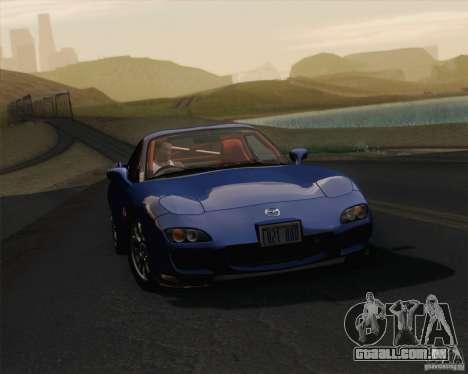 Optix ENBSeries para PC poderoso para GTA San Andreas por diante tela
