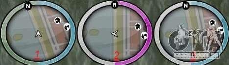 NEW GTA IV HUD 2 para GTA San Andreas segunda tela