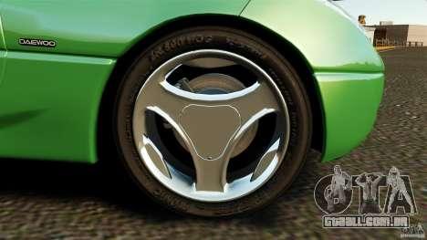 Daewoo Joyster Concept 1997 para GTA 4 vista lateral