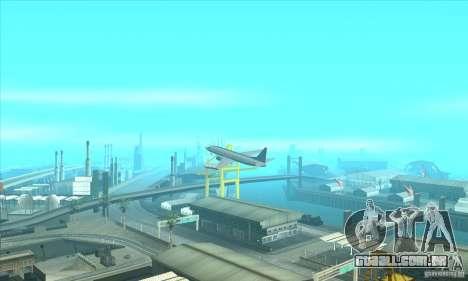 Revitalização dos aeroportos para GTA San Andreas terceira tela