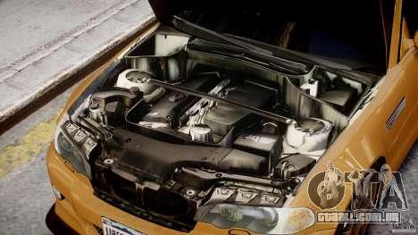 BMW M3 E46 Tuning 2001 v2.0 para GTA 4 vista de volta