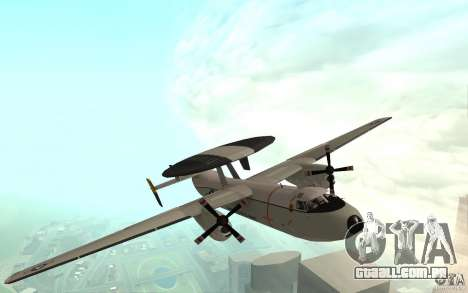 E-C2 Hawkeye para GTA San Andreas