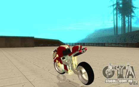 New NRG Standart version para GTA San Andreas traseira esquerda vista