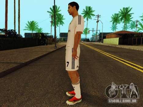 Cristiano Ronaldo v1 para GTA San Andreas terceira tela