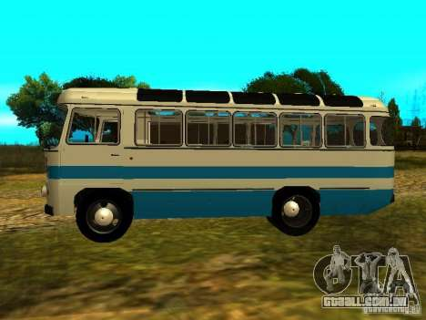 GROOVE versão 672.60 para GTA San Andreas esquerda vista