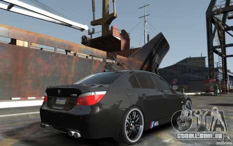 BMW M5 Hamman para GTA 4 vista direita