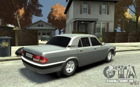GAZ Volga 31105 para GTA 4 vista direita