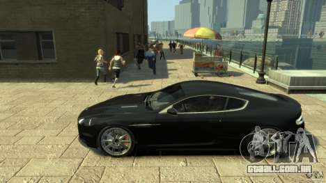 Aston Martin DBS Coupe v1.1f para GTA 4 esquerda vista