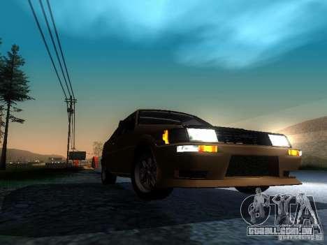 Toyota Corolla AE86 Levin para GTA San Andreas vista traseira