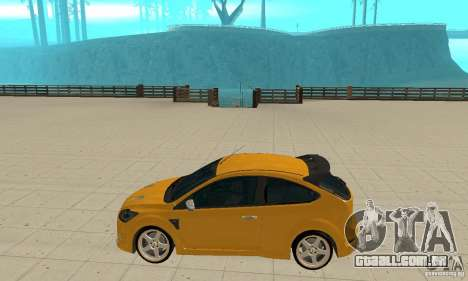 Ford Focus RS para GTA San Andreas esquerda vista