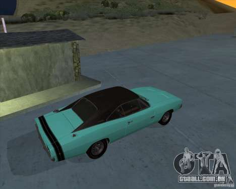 Dodge Charger RT HEMI 1968 para GTA San Andreas esquerda vista