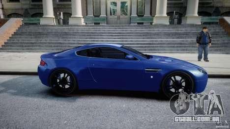Aston Martin V8 Vantage V1.0 para GTA 4 vista interior