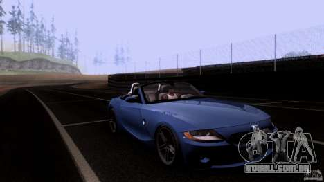 BMW Z4 V10 para vista lateral GTA San Andreas