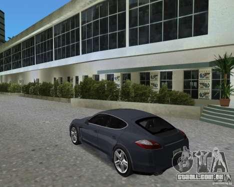 Porsche Panamera para GTA Vice City vista direita