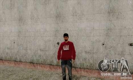 Substituto de pele Bmyst para GTA San Andreas terceira tela