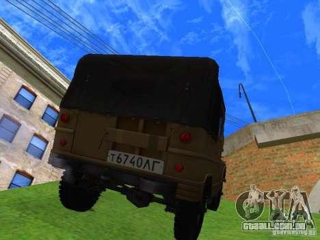 UAZ 460 para GTA San Andreas esquerda vista