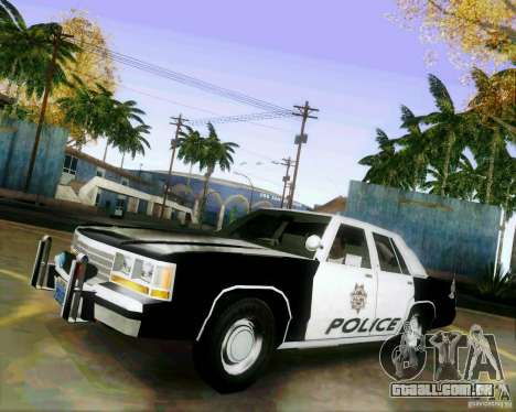 Ford Crown Victoria LTD 1991 LVMPD para GTA San Andreas