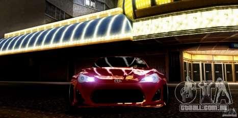 Scion FR-S para GTA San Andreas vista direita