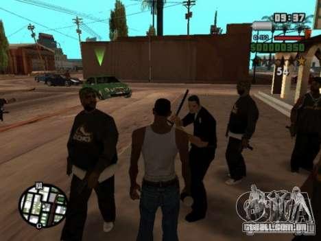 Call of Homies para GTA San Andreas por diante tela