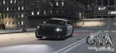 Dodge Charger 2011 Police para GTA 4 vista interior