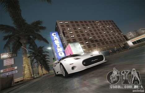 Spyker C8 Aileron para vista lateral GTA San Andreas