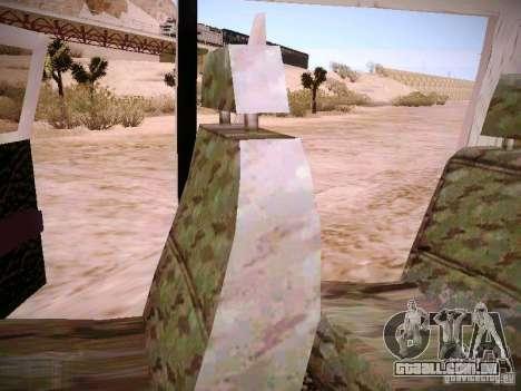 GÁS 310231 urgente para GTA San Andreas vista superior
