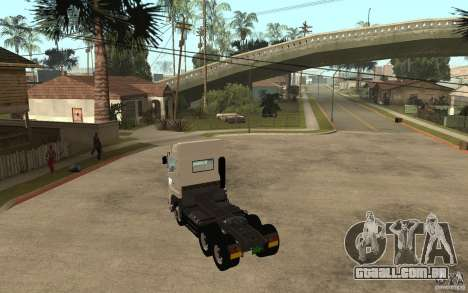 Hino 700 Series para GTA San Andreas traseira esquerda vista