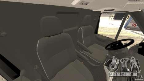 Ford Transit Joen Loka [ELS] para GTA 4 vista interior
