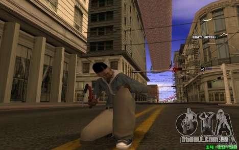 Quebra-gelo (vermelho) para GTA San Andreas segunda tela