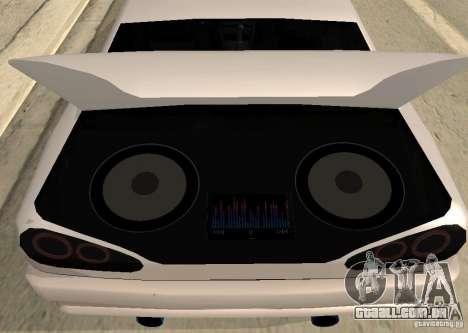 Elegy MIX v2 para GTA San Andreas traseira esquerda vista