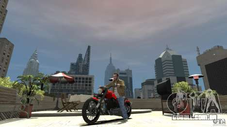The Lost and Damned Bikes Nightblade para GTA 4 esquerda vista